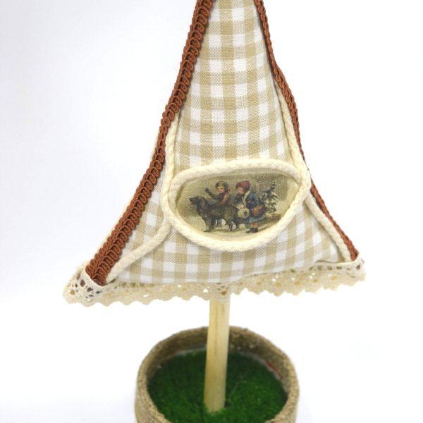 Bradut textil model 3