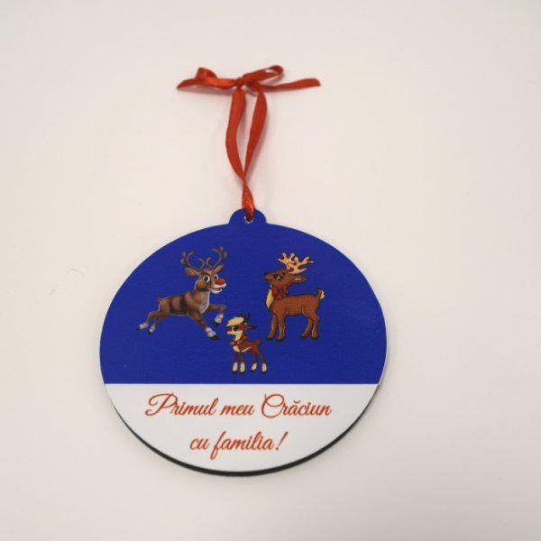 "Ornament brad ""Familie"" model 1"