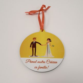 "Ornament brad ""Familie"" model 2"